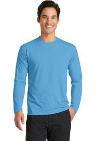 Port & Company ®  Long Sleeve Performance Blend Tee. PC381LS