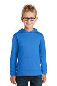 Port & Company ® Youth Performance Fleece Pullover Hooded Sweatshirt. PC590YH