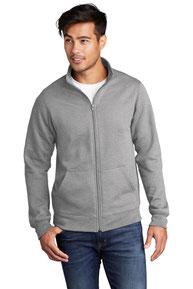 Port & Company  ®  Core Fleece Cadet Full-Zip Sweatshirt PC78FZ