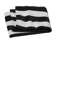 Port Authority  ®  Value Cabana Stripe Beach Towel PT45