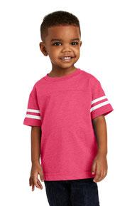 Rabbit Skins ™  Toddler Football Fine Jersey Tee. RS3037