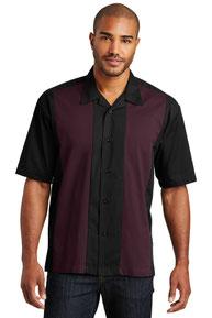 Port Authority ®  Retro Camp Shirt.  S300