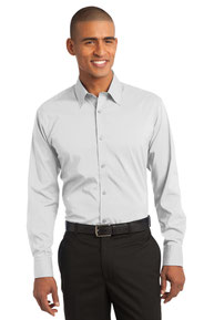 Port Authority ®  Stretch Poplin Shirt. S646