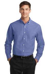 Port Authority ®  SuperPro ™  Oxford Shirt. S658