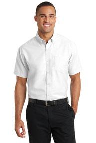 Port Authority ®  Short Sleeve SuperPro ™  Oxford Shirt. S659