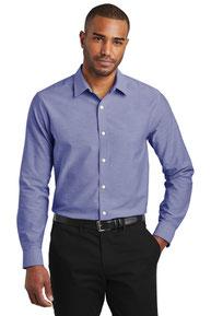 Port Authority  ®  Slim Fit SuperPro  ™  Oxford Shirt. S661