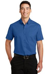 Port Authority ®  Short Sleeve SuperPro ™  Twill Shirt. S664