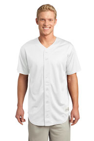 Sport-Tek ®  PosiCharge ®  Tough Mesh Full-Button Jersey. ST220