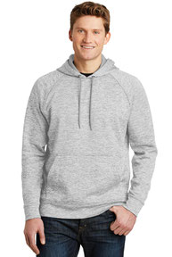 Sport-Tek ®  PosiCharge ®  Electric Heather Fleece Hooded Pullover. ST225