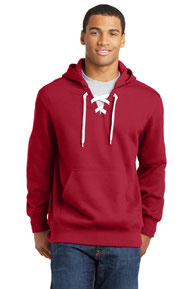 Sport-Tek ®  Lace Up Pullover Hooded Sweatshirt. ST271