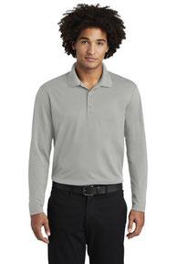 Sport-Tek  ®  PosiCharge  ®  RacerMesh  ®  Long Sleeve Polo. ST640LS