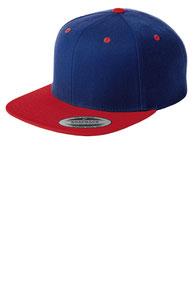 Sport-Tek ®  Yupoong ®  Flat Bill Snapback Cap. STC19
