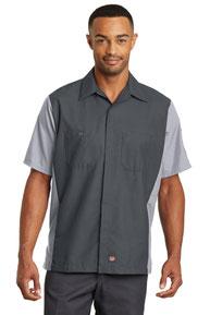 Red Kap ®  Short Sleeve Ripstop Crew Shirt. SY20