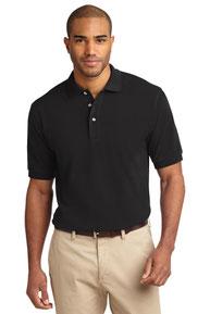 Port Authority ®  Tall Heavyweight Cotton Pique Polo.  TLK420