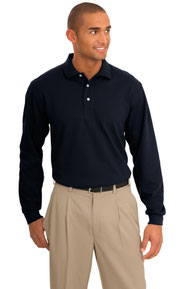 DISCONTINUED  Port Authority ®  Tall Rapid Dry™ Long Sleeve Polo. TLK455LS