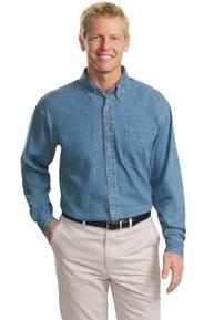 Port Authority ®  Tall Long Sleeve Denim Shirt. TLS600