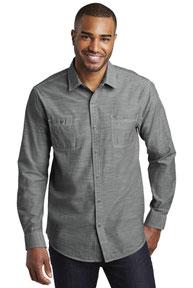 Port Authority ®  Slub Chambray Shirt. W380