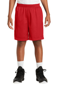 Sport-Tek ®  Youth PosiCharge ®  Classic Mesh Short. YST510